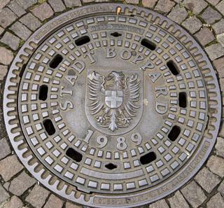Boppard Manhole Cover, Style 2