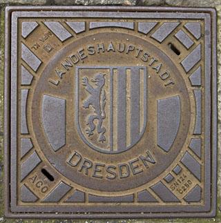Dresden Manhole Cover
