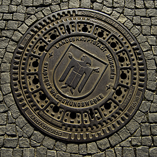 Manhole Cover, Munich, Germany
