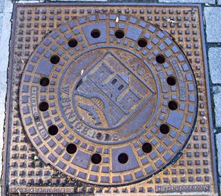 Wernigerode Manhole Cover, Style 2