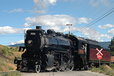KVSR Consolidation 2-8-0 Steam Locomotive #3716