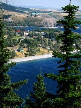 Waterton Lakes Townsite, Alberta, Canada