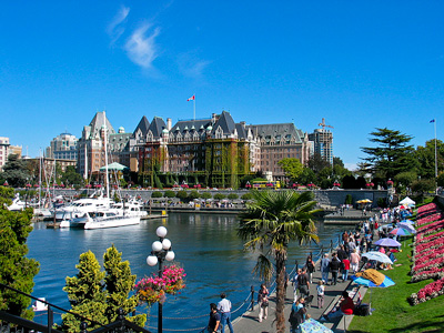 Saskatoonberry Tales' Jigsaw #002: Victoria's Inner Harbour